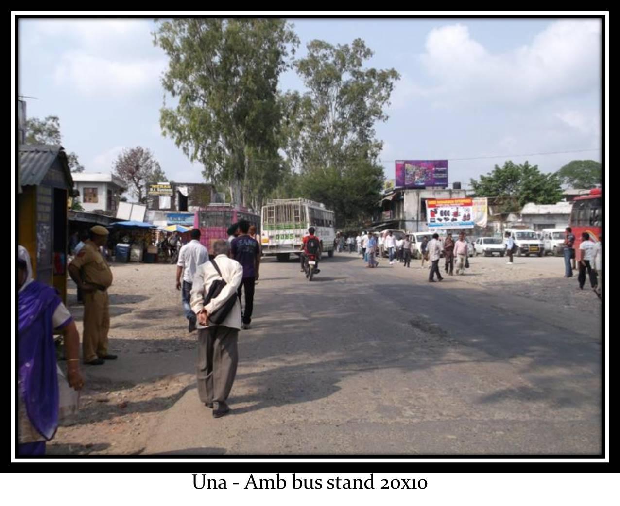 Amb bus stand, Una