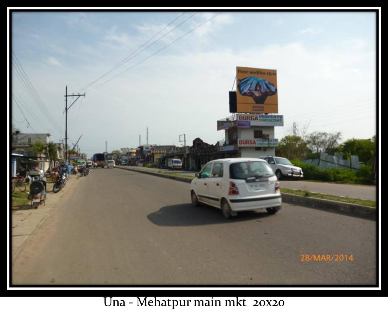 Mehatpur Main Market, Una
