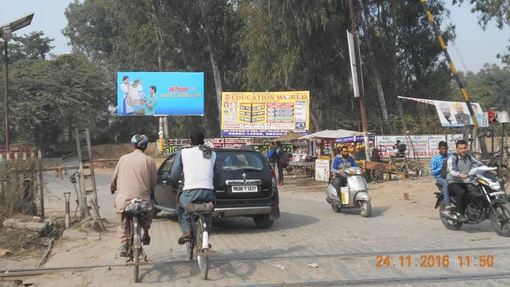 Railway crossing, Gurdaspur