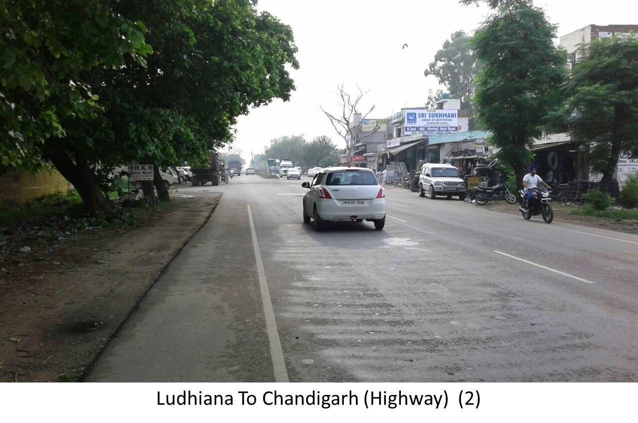 Ludhiana To Chandigarh  Highway