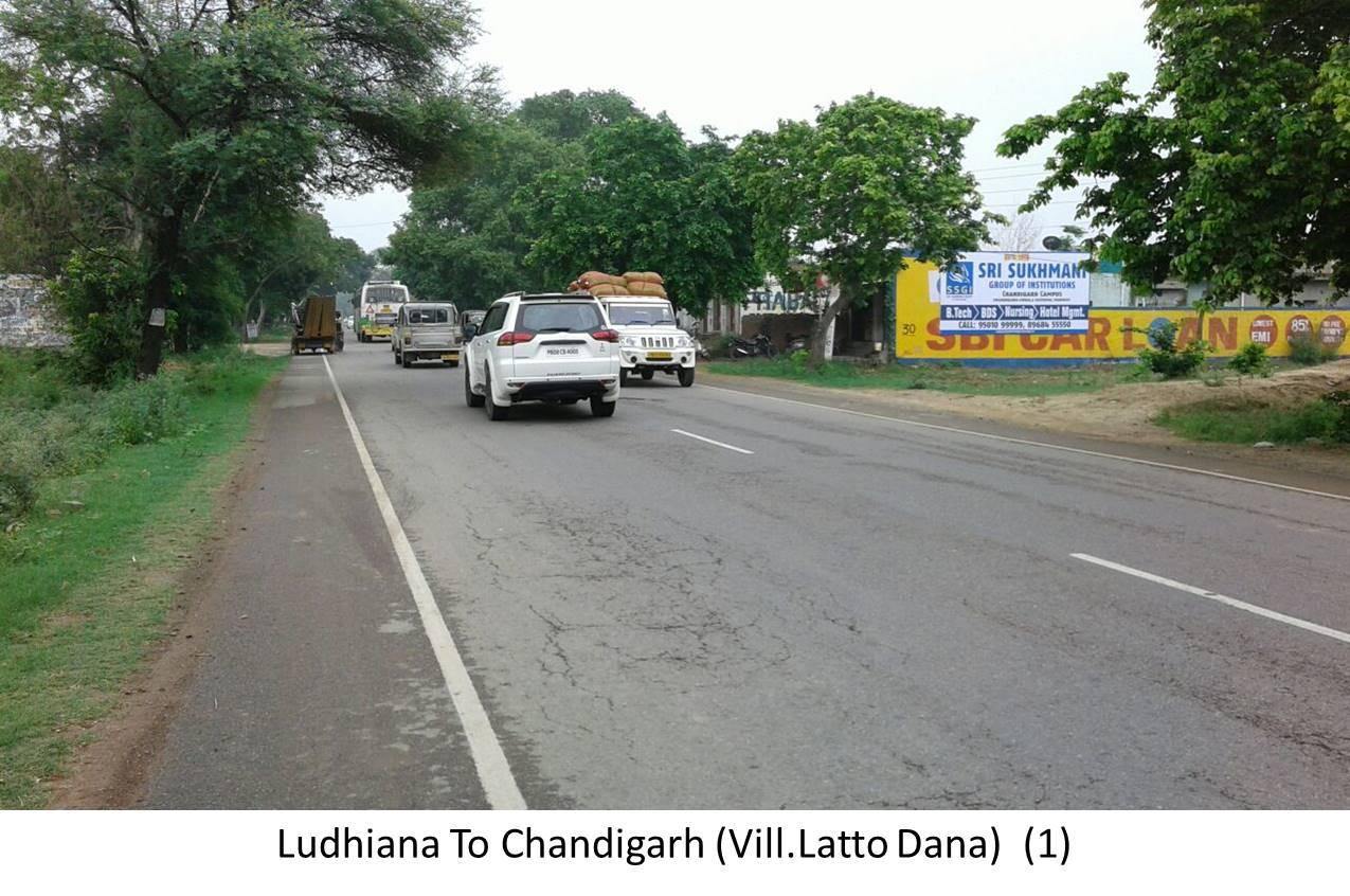 Nr Vill.Latto Dana, Ludhiana to Chandigarh Highway