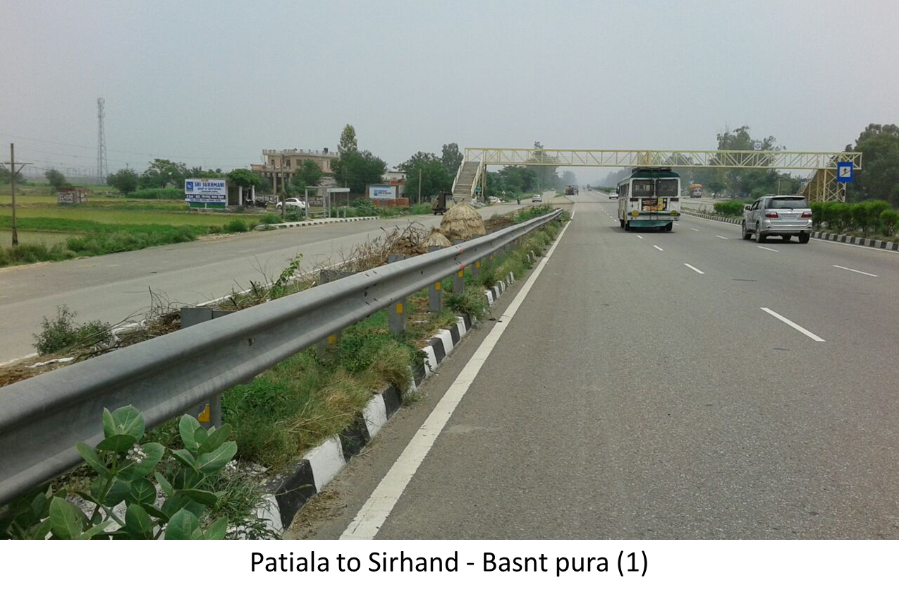 Basnt pura, Patiala to Sirhind Highway