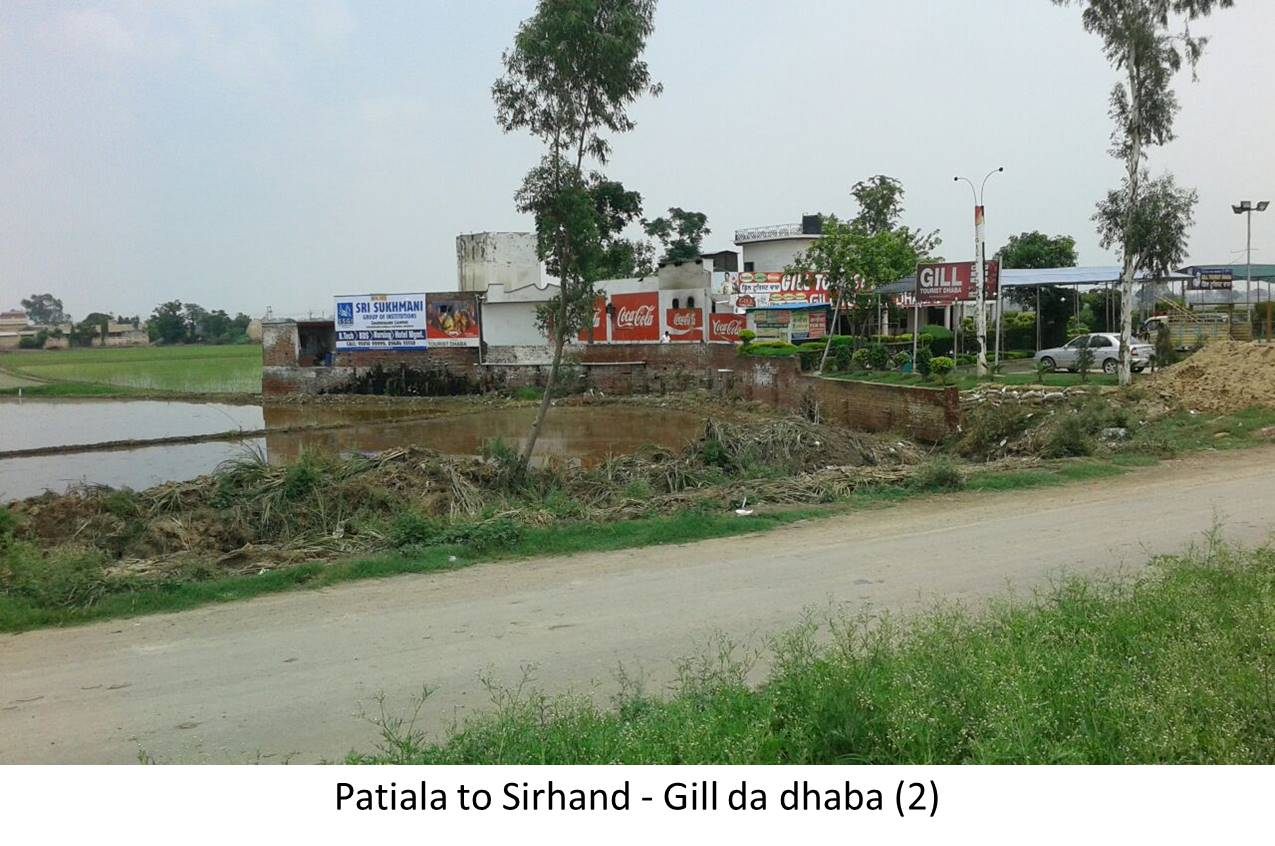 Nr Gill Da Dhaba, Patiala to Sirhind Highway