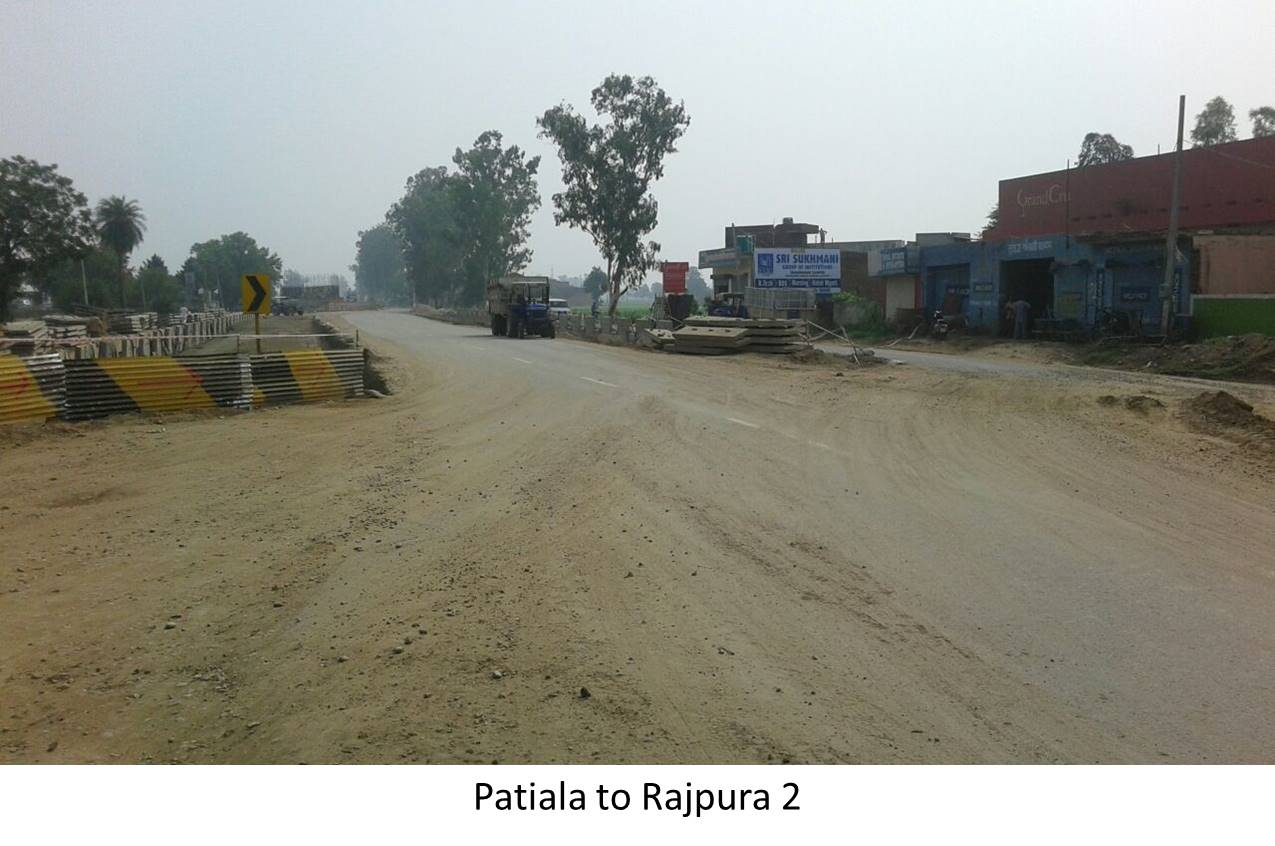 Patiala to Rajpura Highway