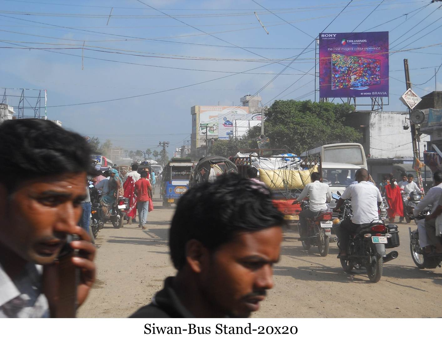 Bus Stand, Siwan
