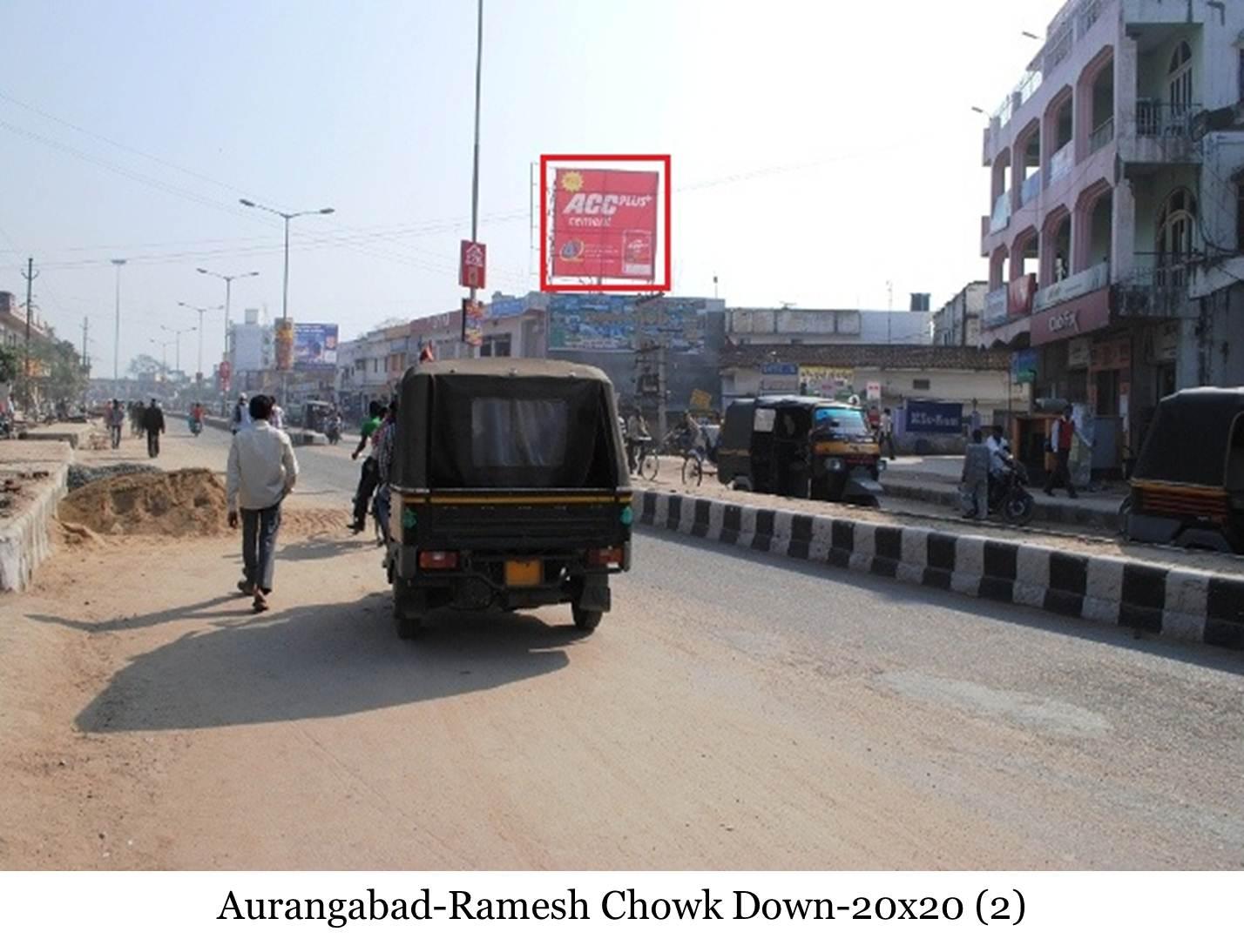 Ramesh Chowk Down, Aurangabad