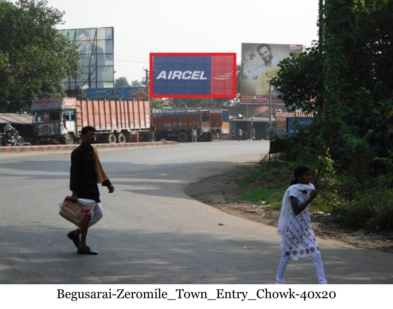 Zeromile Town Entry Chowk, Begusarai