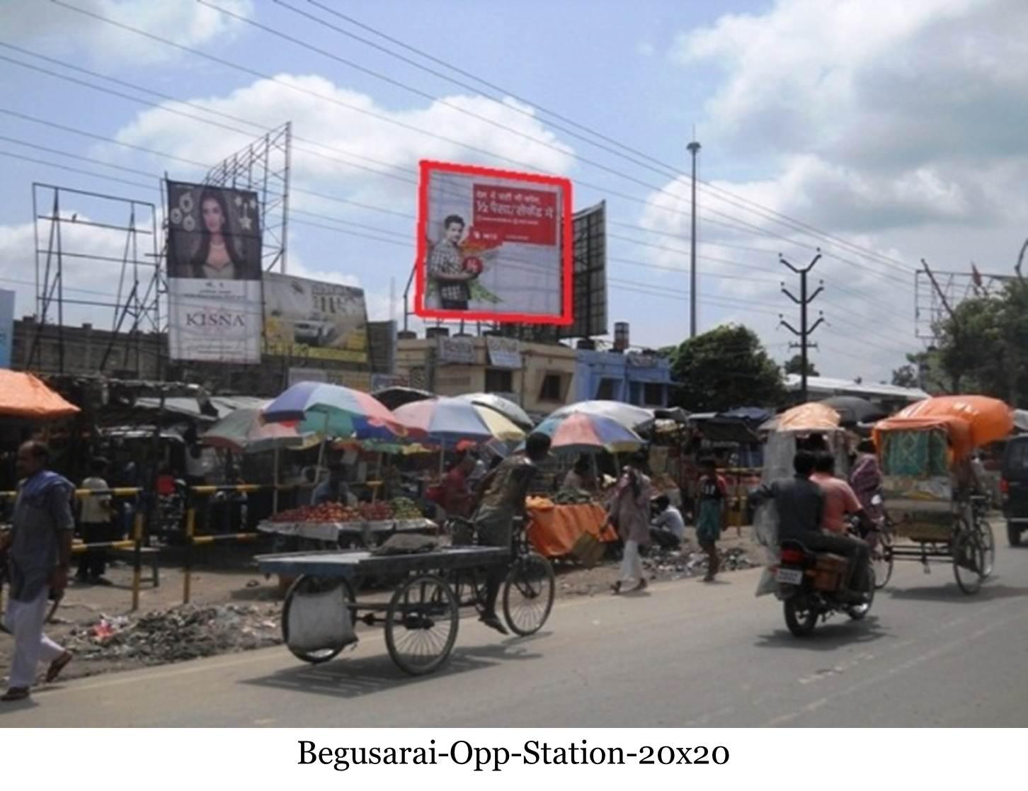 Opp. Station, Begusarai