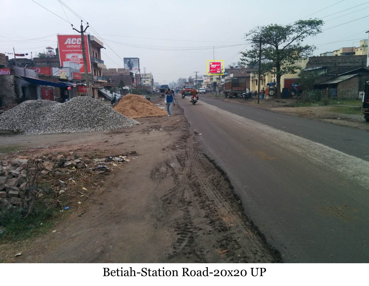 Station Road UP, Bettiah