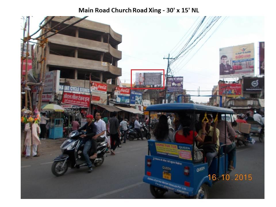 Main Road Church Road Xing, Ranchi