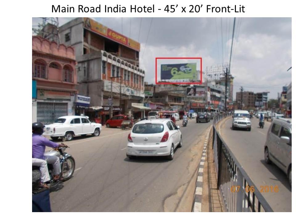 Main Road India Hotel, Ranchi