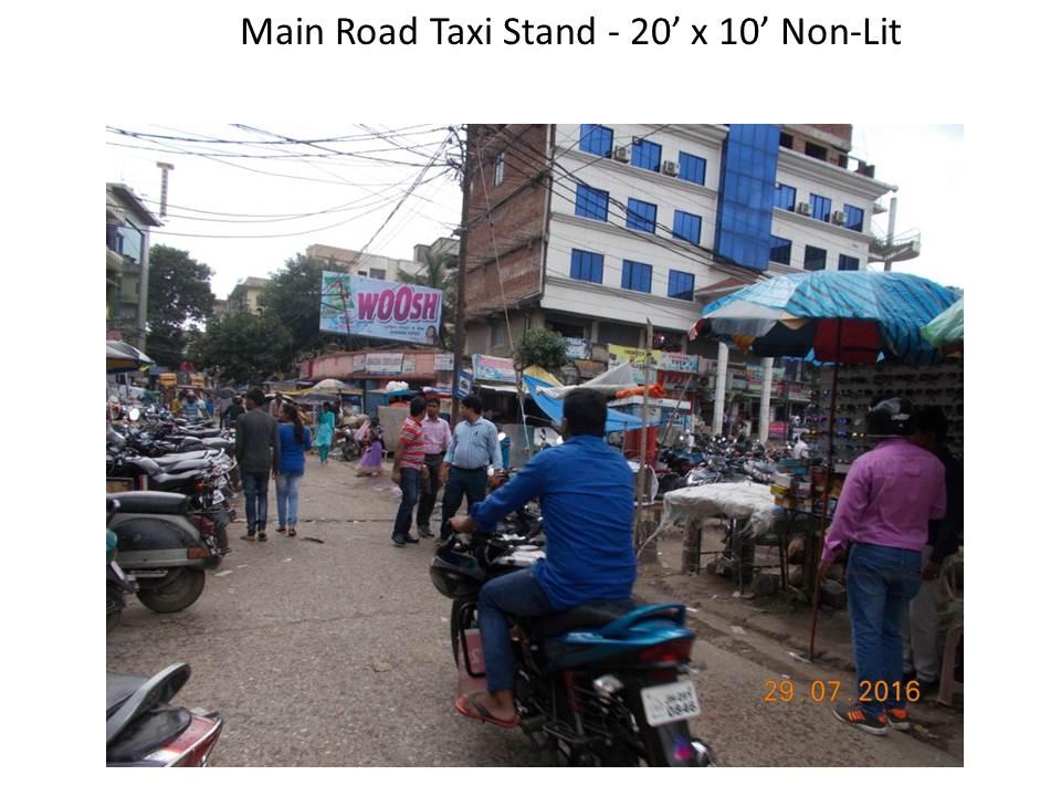 Main Road Taxi Stand, Ranchi