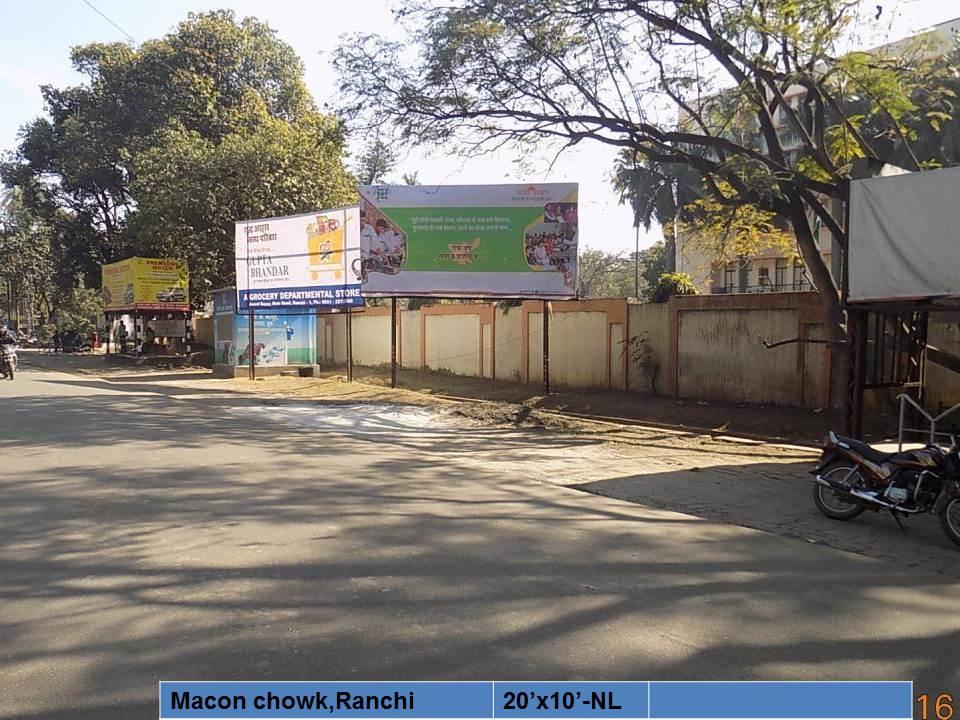 Macon chowk,Ranchi