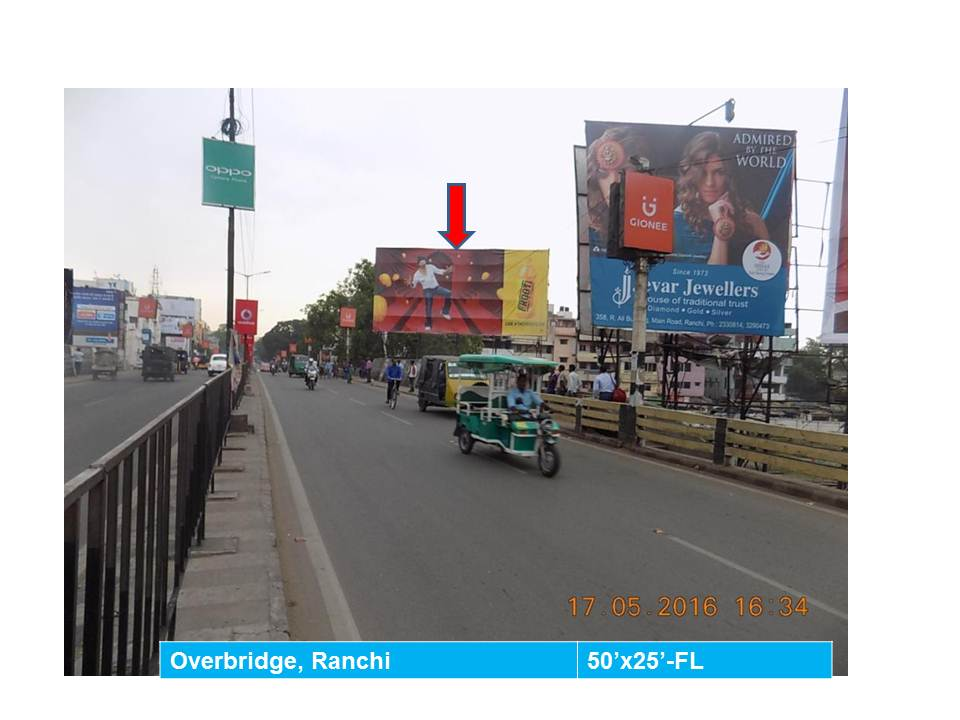 Overbridge, Ranchi