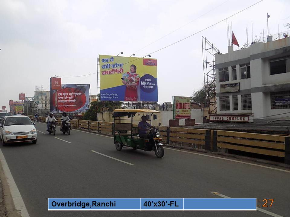 Overbridge, Ranchi