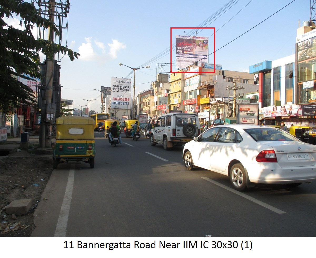Bannergatta Road Near IIM IC, Bengaluru