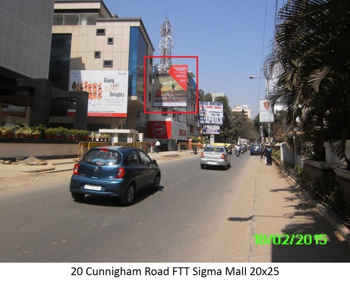 Cunnigham Road FTT Sigma Mall, Bengaluru
