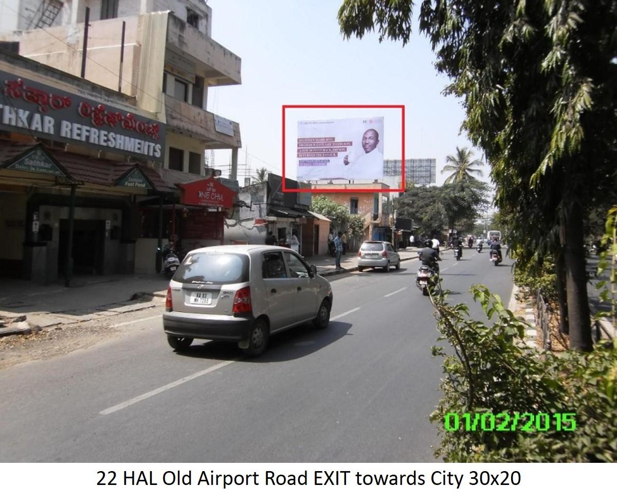 HAL Old Airport Road EXIT Towards City, Bengaluru