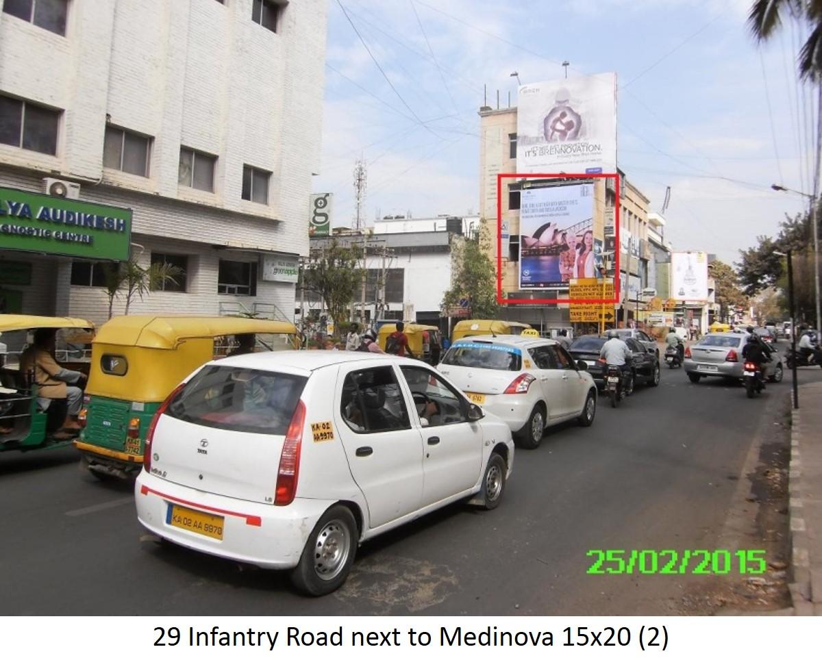 Infantry Road Next To Medinova, Bengaluru