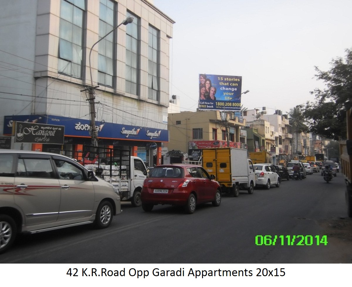 K.R.Road Opp Garadi Appartments, Bengaluru