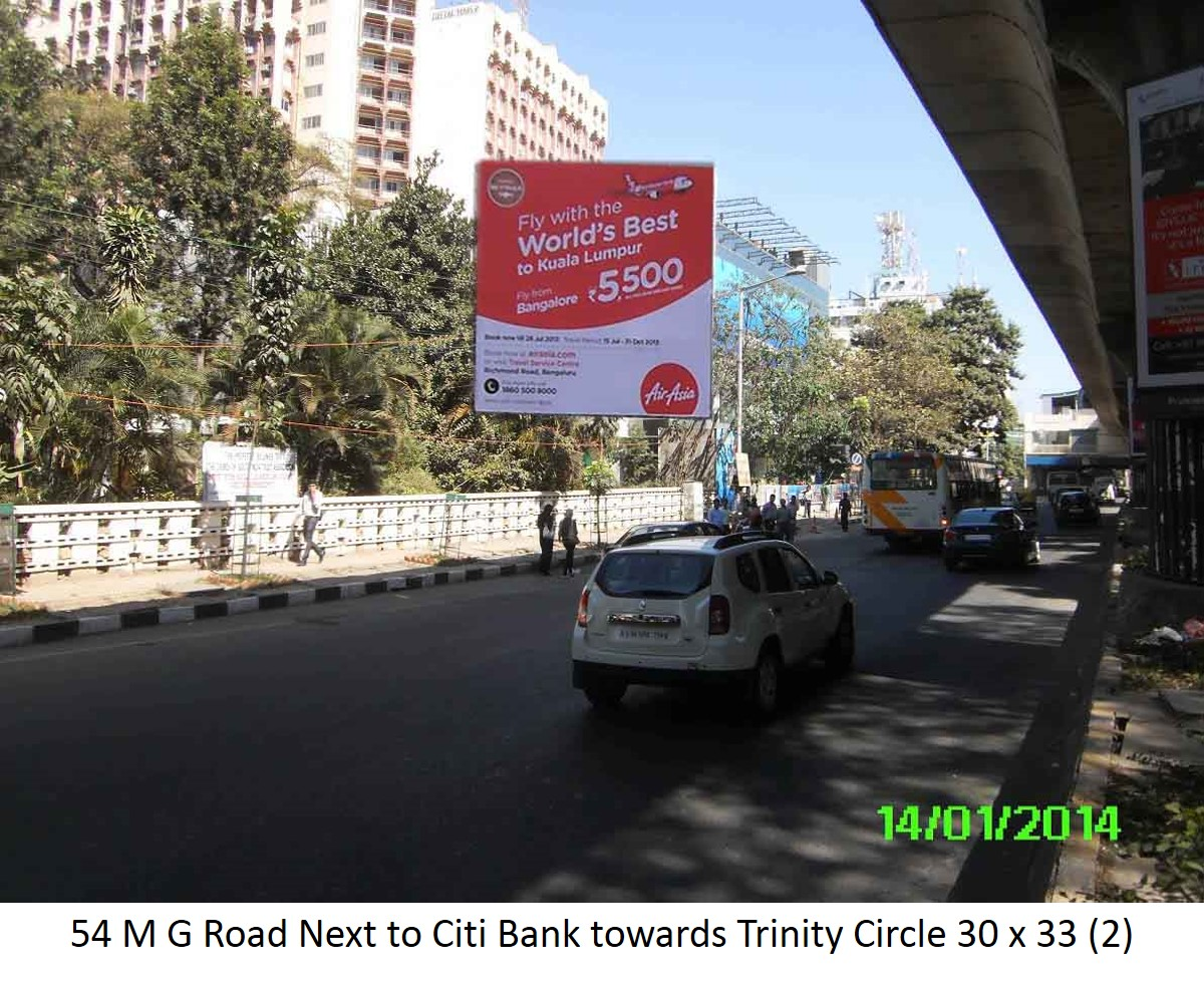M G Road Next to Citi Bank Towards Trinity Circle, Bengaluru