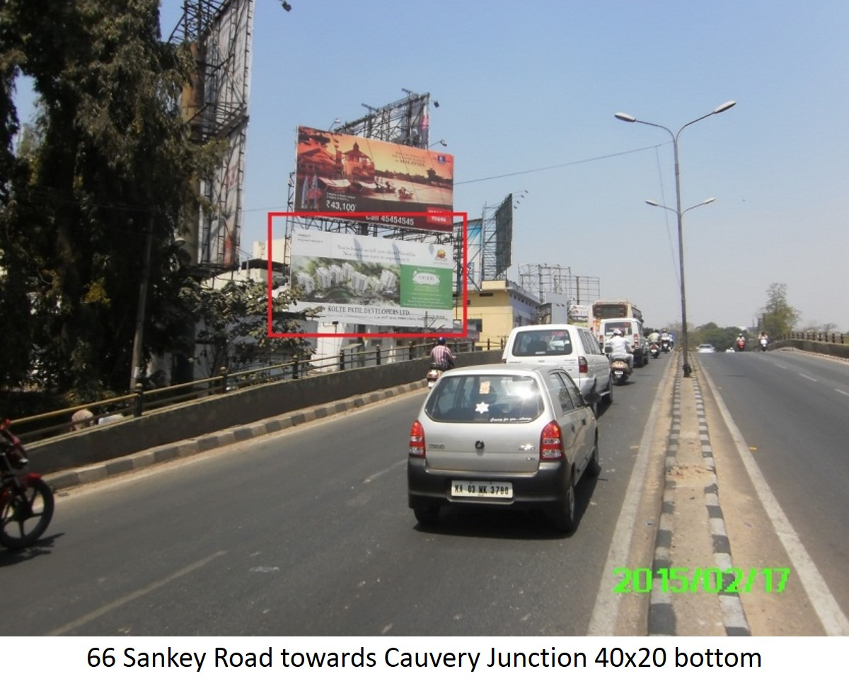 Sankey Road Towards Cauvery Junction Bottom, Bengaluru