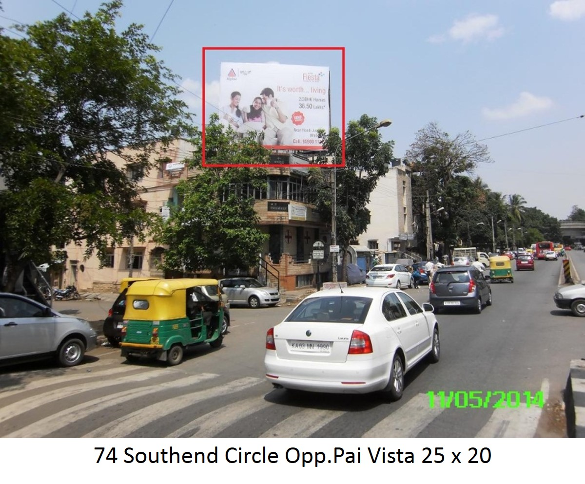 Southend Circle Opp.Pai Vista, Bengaluru