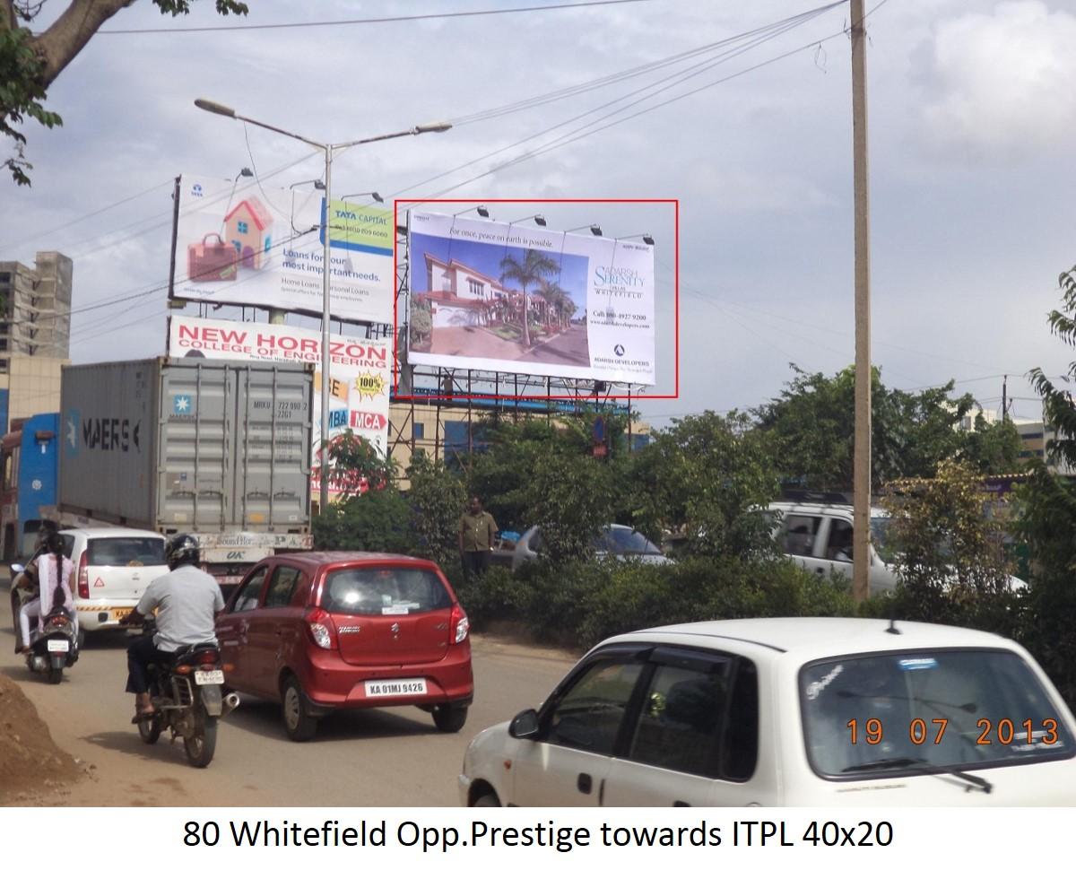 Whitefield Opp.Prestige towards ITPL, Bengaluru