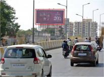 Bhatar Char Rasta Fly-over , Towards Citylight / University road