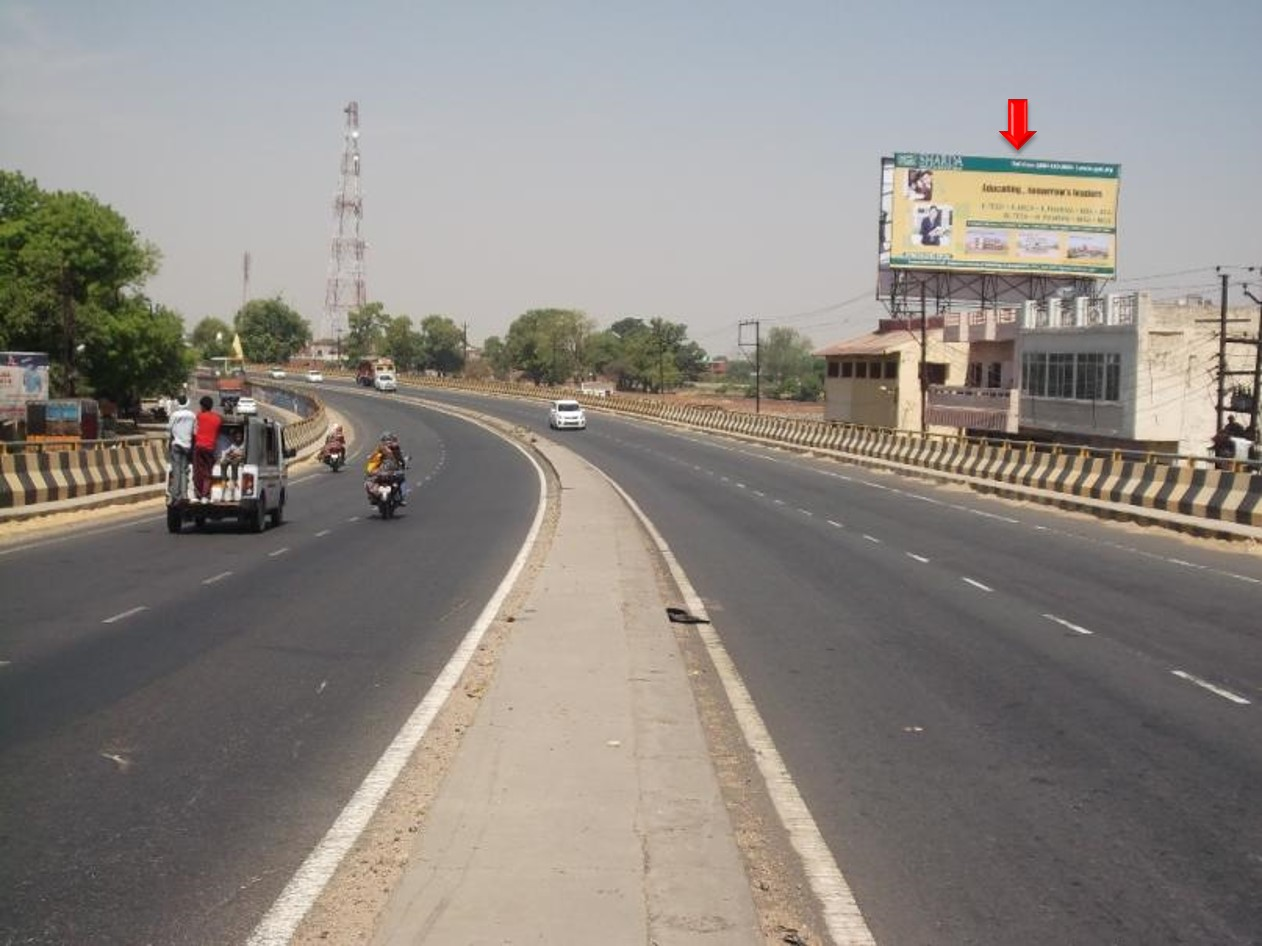 Fly Over Tundla Chowk, NH-2