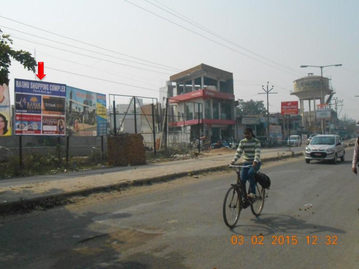 Pashchimpuri Xing, Agra