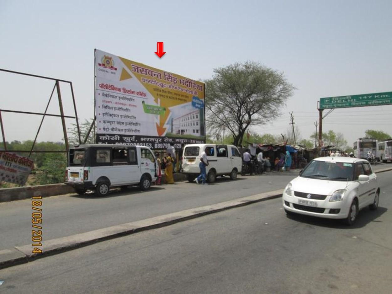 Bharatpur Chowraha, NH-2, Mathura
