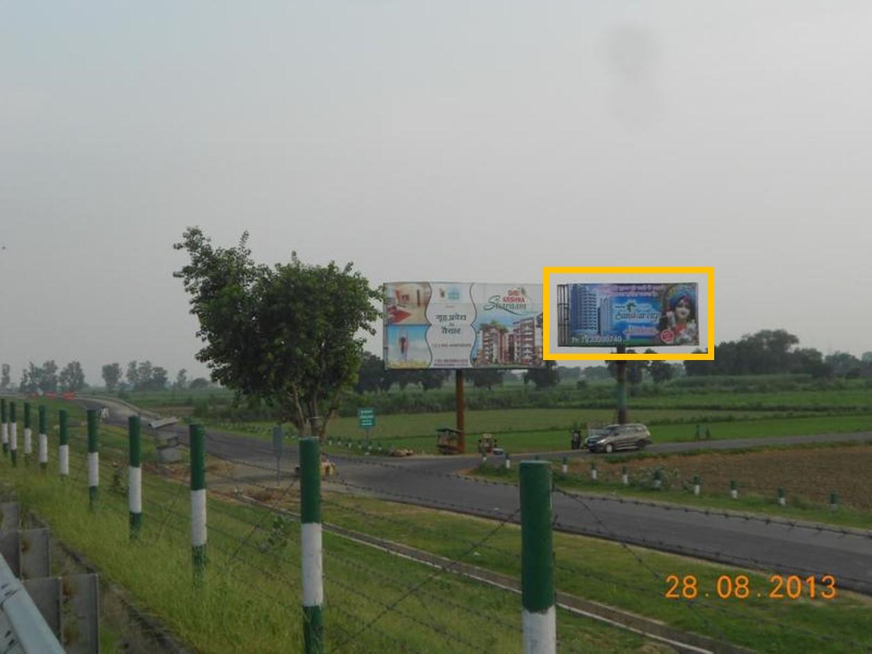 Near Pani Gaon,Yamuna Expressway Highway