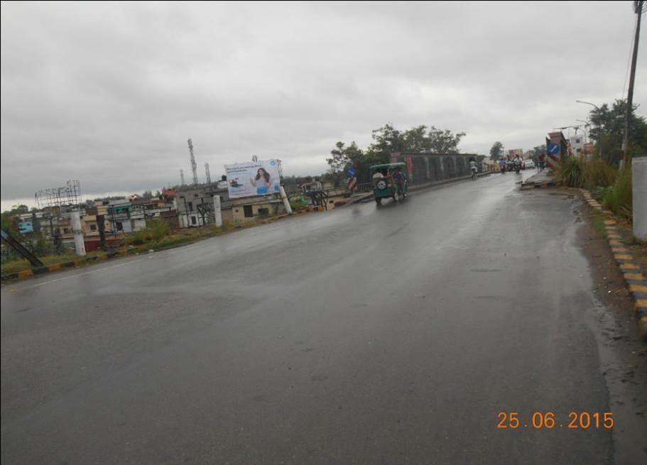 Loccoshed Over Bridge, Moradabad