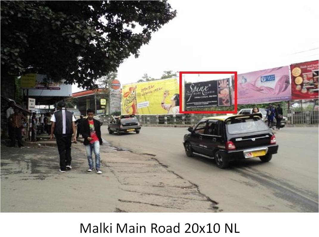 Malki Main,Road