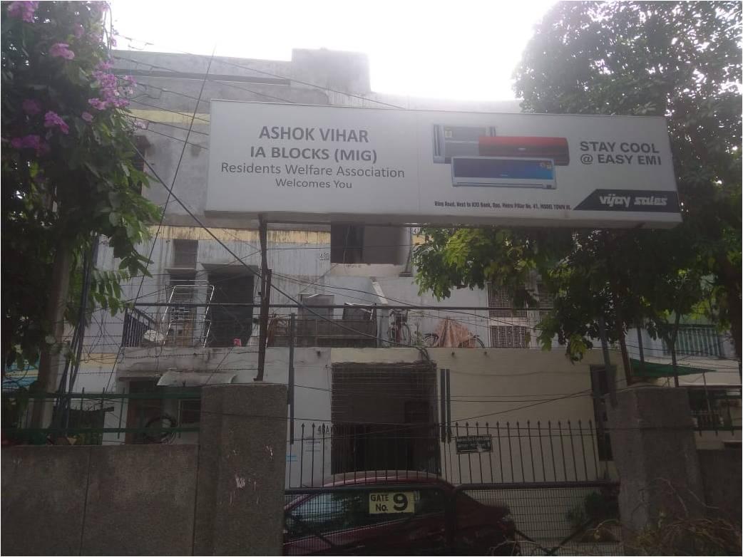 I A BLOCK ASHOK VIHAR,New Delhi