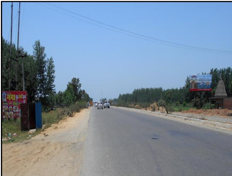 NH-58, Gurukul Narsan-up-ua Border,  Muzaffarnagar