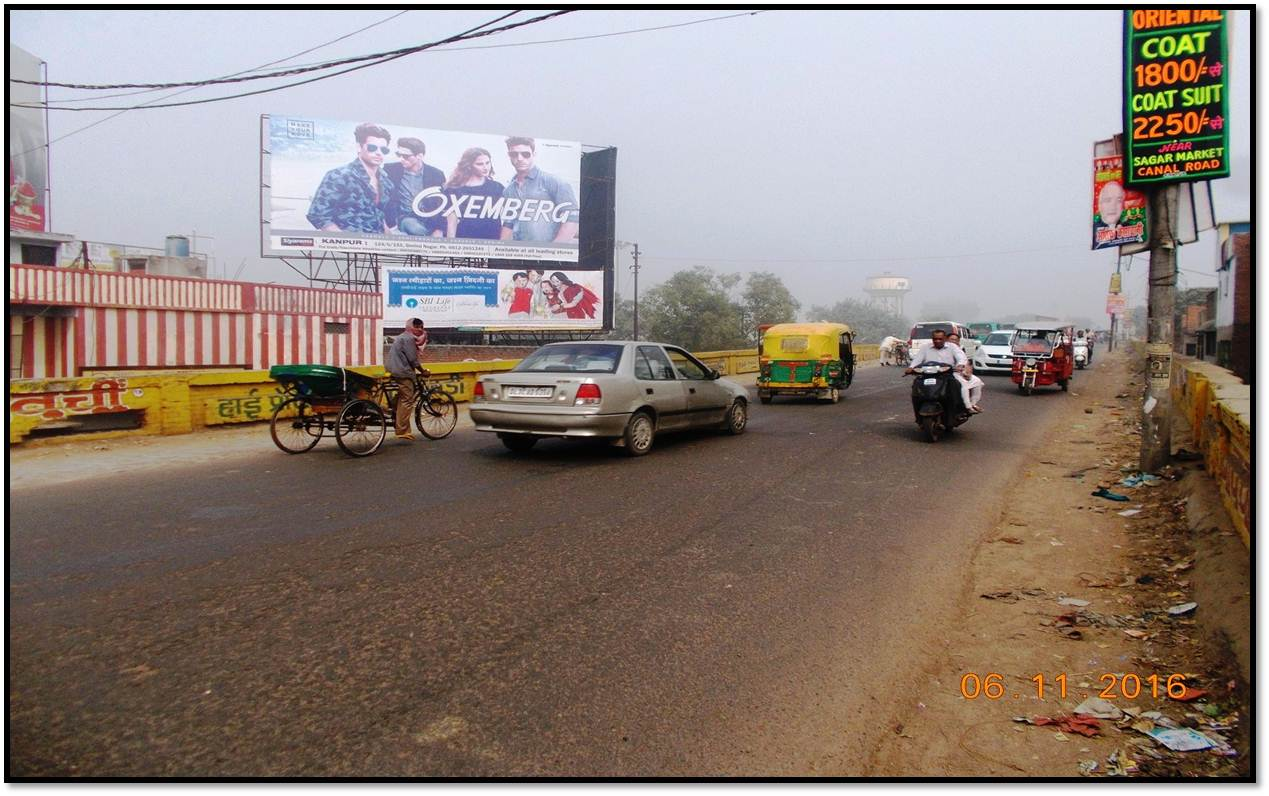 Ghantaghar Tatmill Flyover, Kanpur