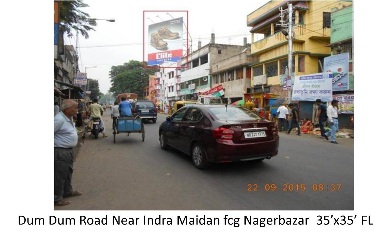 Dum Dum Road Near Indra Maidan, Kolkata