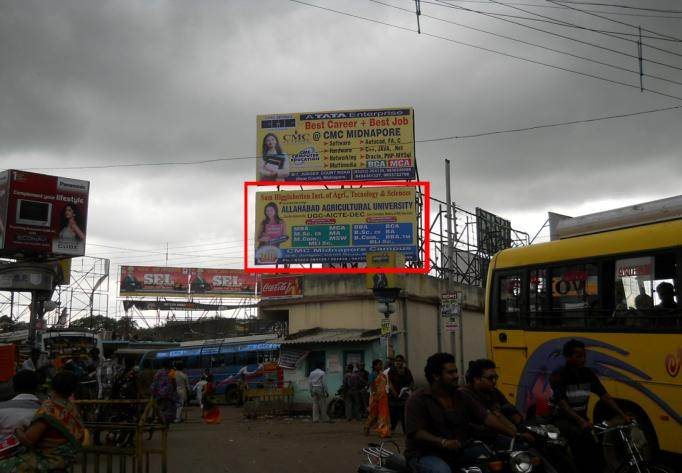 Bus Stand, Midnaore