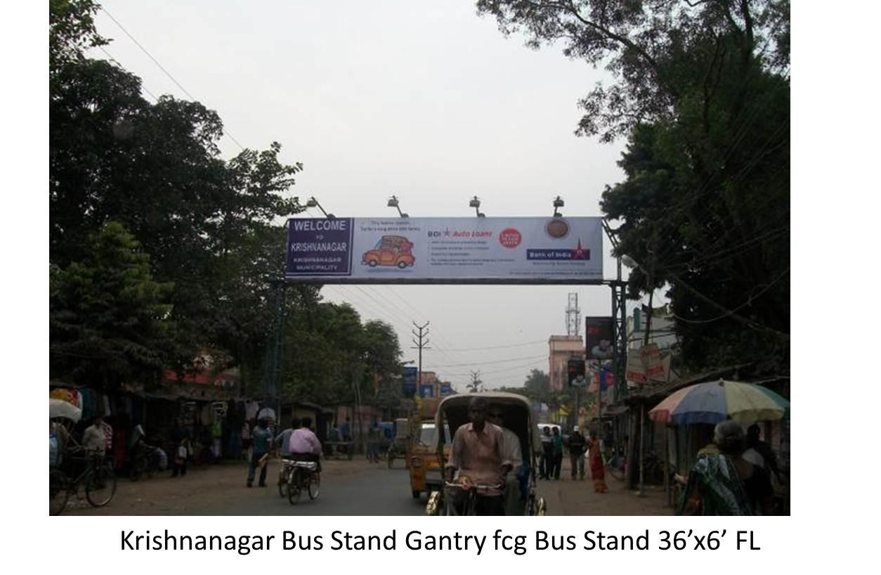 Krishnanagar Bus Stand Gantry, Nadia