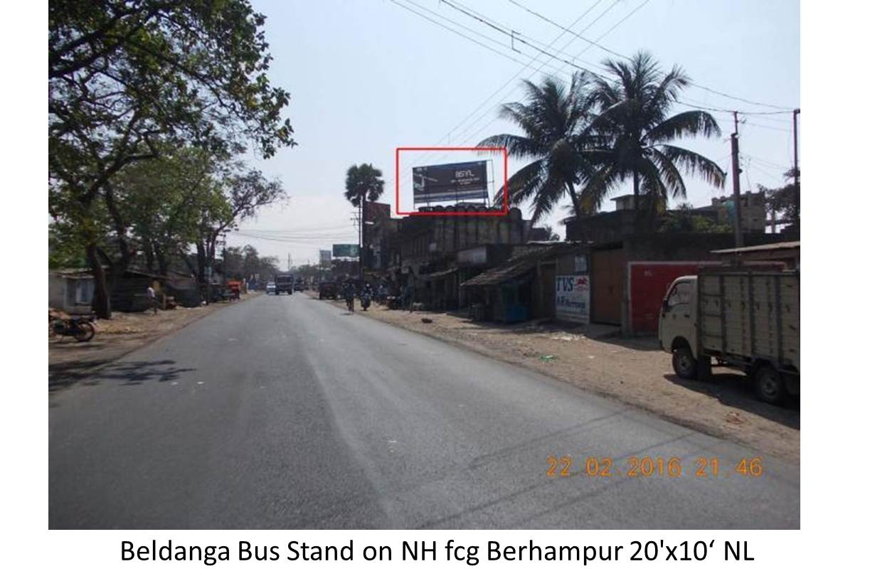 Beldanga Bus Stand on NH, Murshidabad