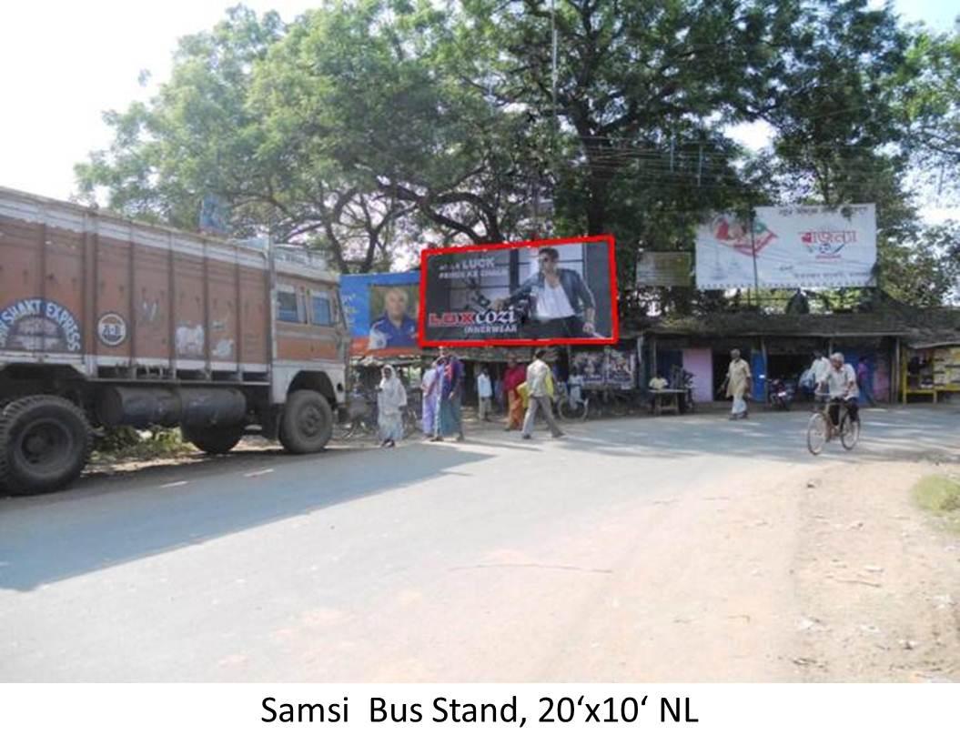 Samsi  Bus Stand, Malda