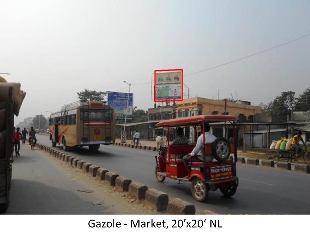 Gazole Market, Dinajpur
