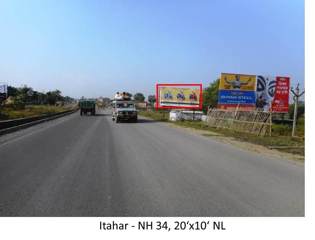 Itahar NH 34, Dinajpur