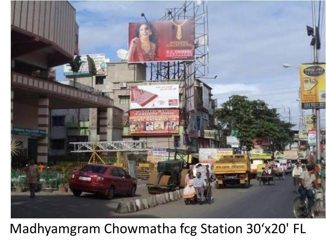 Madhyamgram Chowmatha, Kolkata