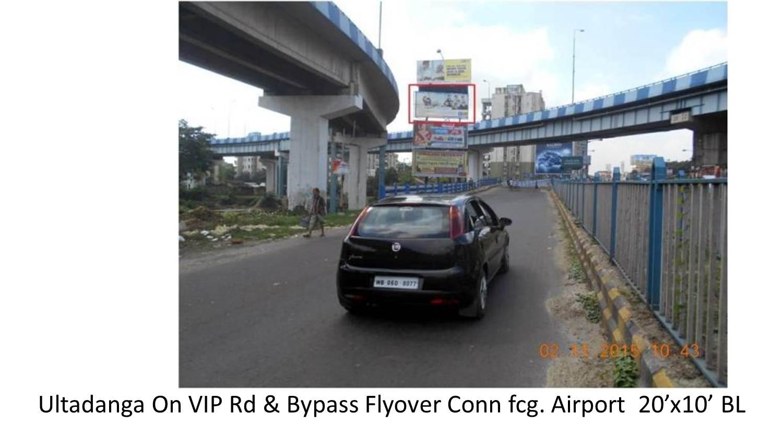 Ultadanga On VIP Rd & Bypass Flyover Conn, Kolkata