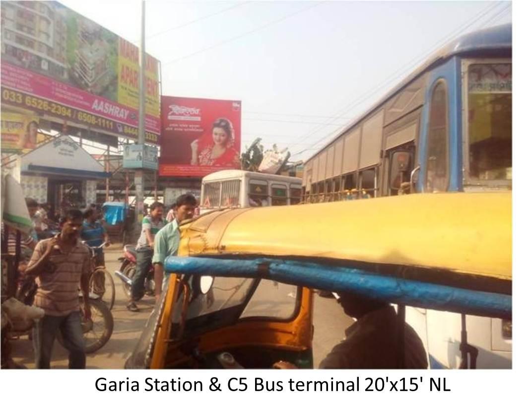 Garia Station & C5 Bus terminal, Kolkata