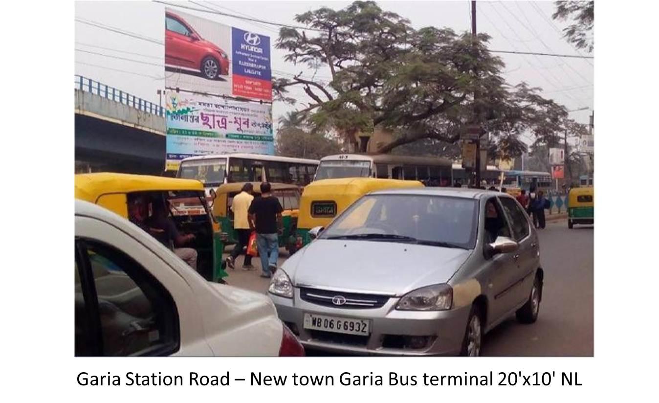 Garia Station Road New town Garia Bus terminal, Kolkata
