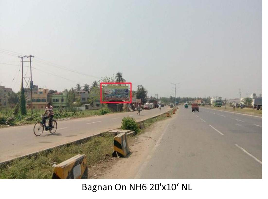 Bagnan on NH-6, Howrah